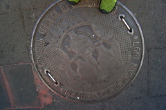Manhole Cover With Three Kings