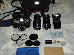 Camera Bag, updated 1 (che moleman) Tags: camera fern canon bag photography photo ae1 gear equipment che moleman camacho chemoleman ferncamacho