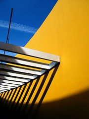 Angles, lines, light, and shadows (kevin dooley) Tags: blue light shadow arizona sky favorite cloud beautiful lines yellow museum wow dark book interesting fantastic flickr pretty very good gorgeous awesome angles award superior super best most winner stunning excellent much blocks scottsdale atrium incredible breathtaking exciting rectangles phenomenal 25faves aplusphoto scottsdalemuseumofcontemporaryarts book0