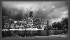 The Rain Cometh [IR] (Edd Noble) Tags: bw storm canon ir rainbow infrared converted g9 vob bwdreams