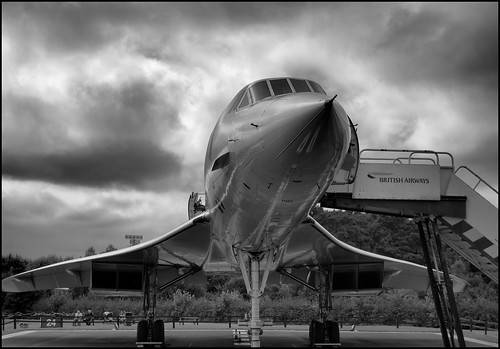 Concorde: Foto HDR del Concorde de British Airways