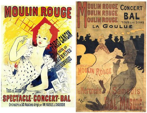 Moulin Rouge carteles