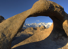 Mobius Arch (sandy.redding) Tags: california mountains landscape sierranevada soe hdr alabamahills photomatix naturescall explored mobiusarch tokinaatx124prodx treeofhonor shotwithstevemendenhall shotwithrogermoorehead