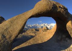 Mobius Arch (sandy.redding) Tags: california mountains landscape sierranevada soe hdr alabamahills photomatix naturescall explored mobiusarch tokinaatx124prodx treeofhonor shotwithstevemendenhall shotwithrogermoorehead