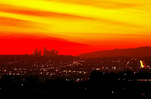 LA Sunset - flickr/kla4067