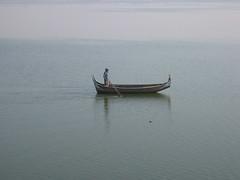 Fisherman (R Stanek) Tags: lake boats fisherman burma myanmar mandalay amarapura ubein taungthaman