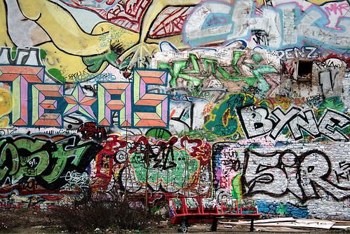 Tacheles. Граффити в Берлине