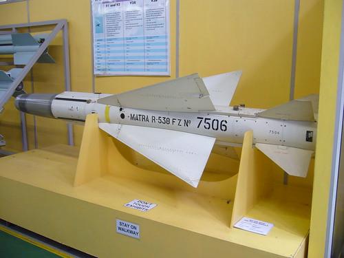 Misiles Argentinos utilizados en la guerra de Malvinas