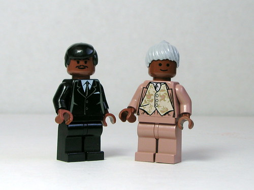 Martin Luther King, Jr. and Rosa Parks