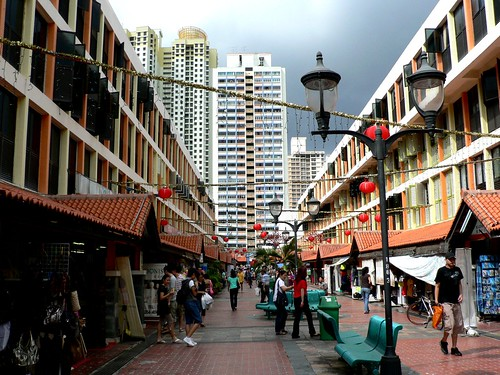 January Challenge: Toa Payoh with Storm Clouds