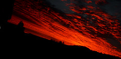 Red Sky (C@lumMore) Tags: morning red sky cloud silhouette clouds sunrise dawn scotland blood photos scottish more calum inverness ultimateshot