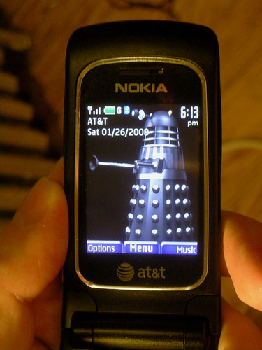25/366, or the New Phone (Daleks Not Included)