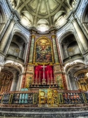 The Gates of Saint Peter (Stuck in Customs) Tags: pictures panorama color church colors true lines work germany painting real fun photography dresden nikon candles shoot colours photographer cross shot angle photos gates details religion d2x perspective churches polish chapel arches images calm adventure holy peter edge definition processing program pro resolution serene marble capture spiritual hdr stpeter treatment chandaliers saintpeter highquality stuckincustoms avision treyratcliff curtissimmons