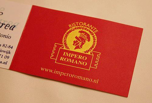 Impero Romano-Den Haag-080123