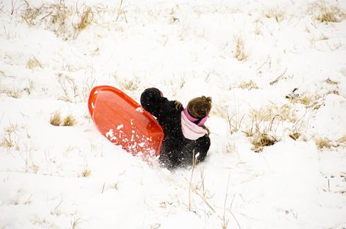 sledding 160