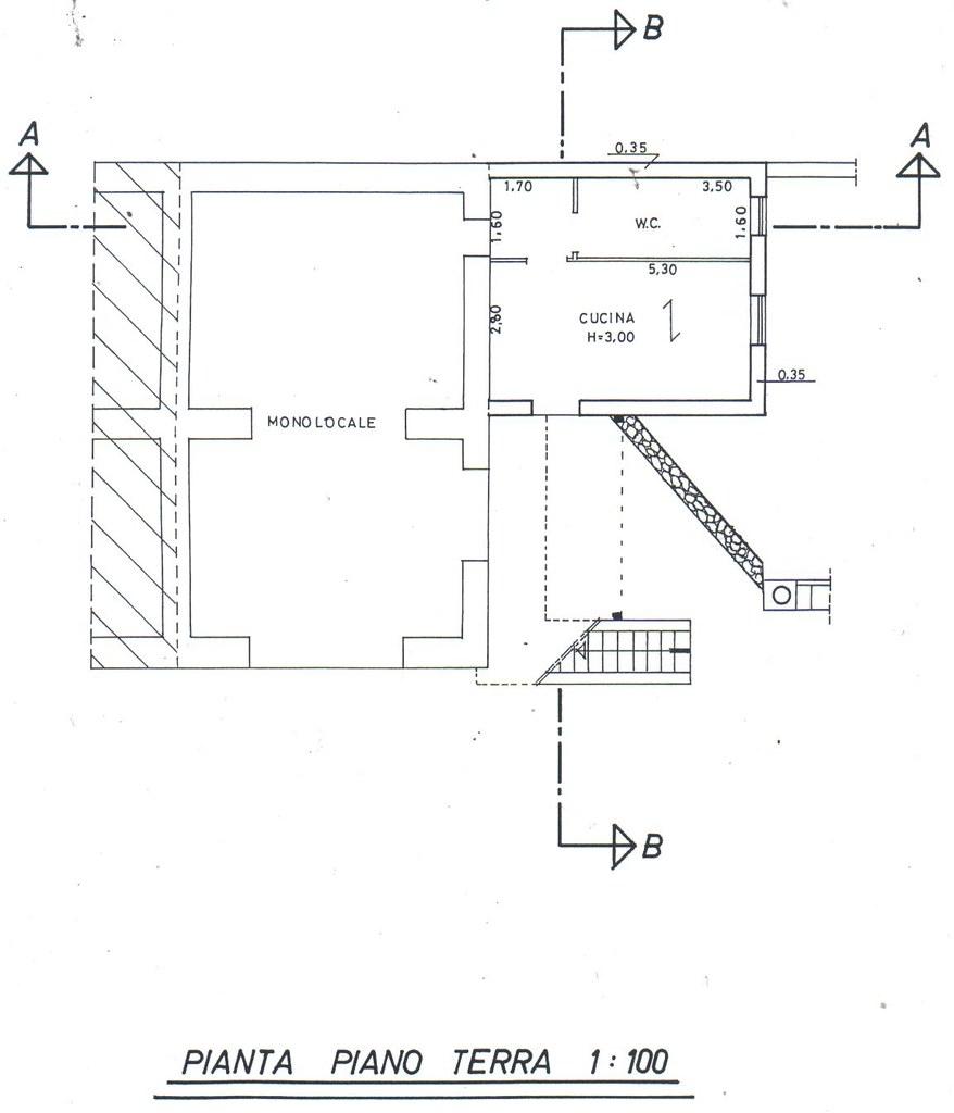floor plan of villa Diana North ground floor