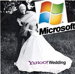Microsoft's Yahoo White Wedding