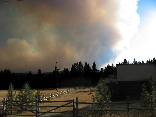 Jocko Lakes Fire - 1