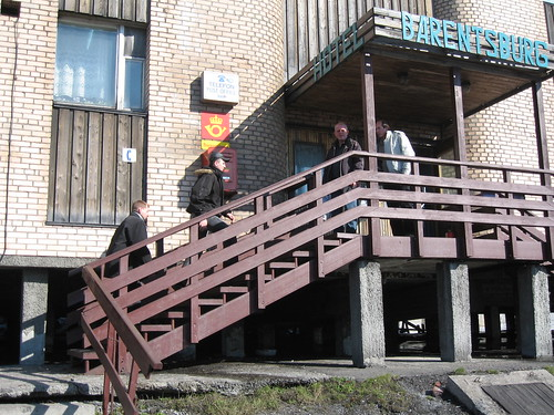 Post office, Barentsburg, Svalbard