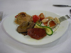 Appetizer at L'Osteria di Oreste, Geneva