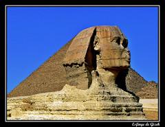 Gran Esfinge de Giza (khuasi) Tags: searchthebest vivid egipto giza texturas gizeh piedra 10faves abigfave platinumphoto anawesomeshot eliteimages goldstaraward lagranesfinge
