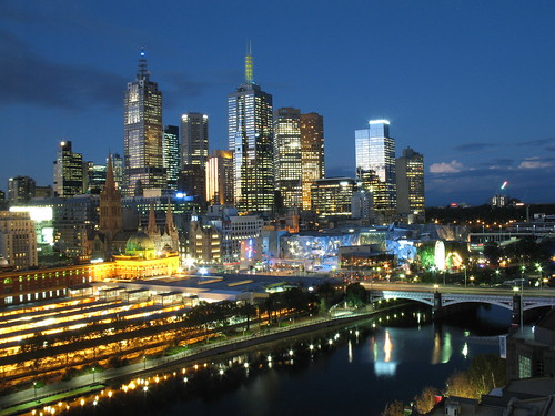 Beautiful Melbourne Skyline by Dean-Melbourne.