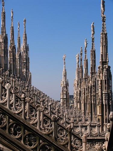 Il Duomo di Milano - lignes