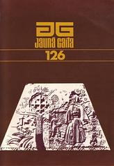 Jauna gaita 126 (Design and illustrations from Latvia) Tags: illustration typography design graphicdesign latvia 70s 1979 latvija coverdesign dizains grafiskaisdizains ilustrācija jaunagaita ilmārsrumpēters