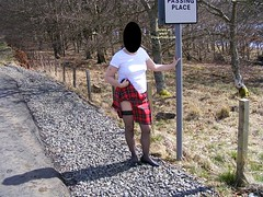Scottish exhibitionist
