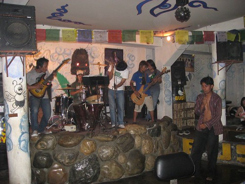 Cover band at The Busy Bee