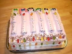 "The ""Masterpiece"" (Kiltegan gal) Tags: birthday party cake slumber sleepover slumberparty"