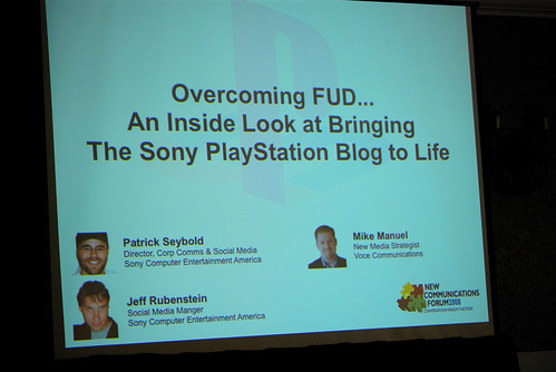 PlayStation NewComm Forum Preso