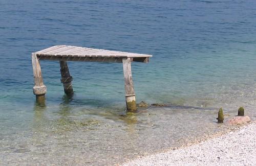 Abandoned poor pier