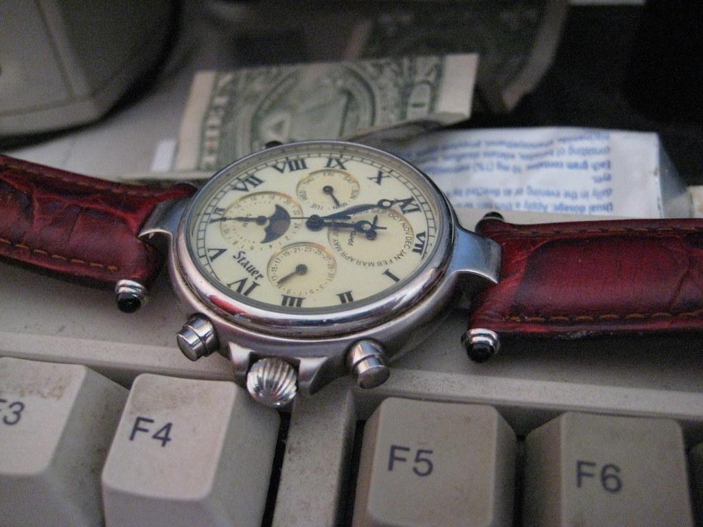 Stauer Wristwatch - Macro 1
