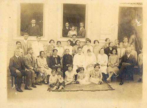 Casamento de umas filhas do Cel. José Joaquim Junqueira Ferraz