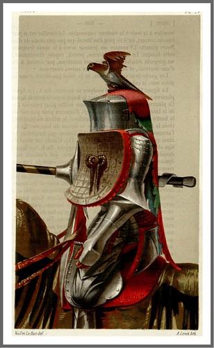 pag 390b-Tomo II- detallle- combatiente en una Justa siglo XV
