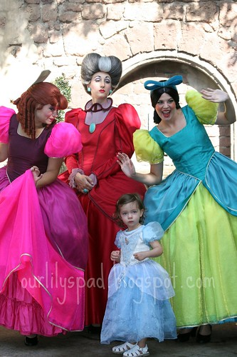 Cinderella, her Stepmother & Stepsisters