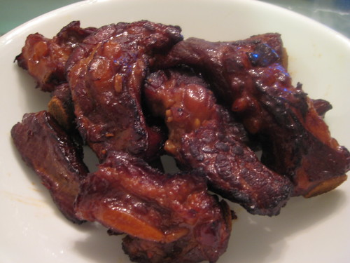 Stewed and Roasted Ribs