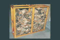 Firewood Storage (Imagination Unincorporated) Tags: storage firewood kindling woodrack woodstorage lumberrack lumberstorage mortiseandtennon mortisetenon firewoodstorage morticeandtennon morticetennon