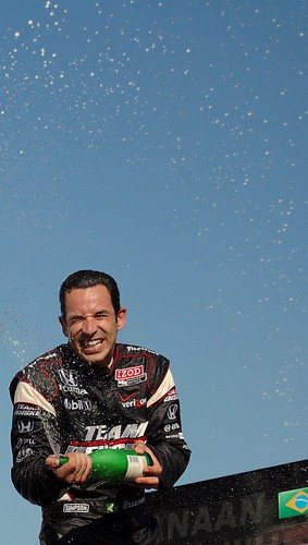 Track Chic Presents: The Grand Prix of Alabama: Helio Castroneves Champagne Shower