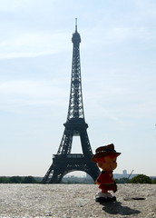 with the Eiffel Tower