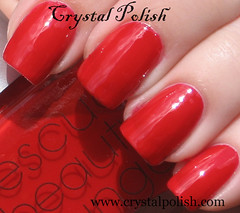Rescue Beauty Lounge Chinoise (CrystalPolish) Tags: red creme chinoise rescuebeautylounge