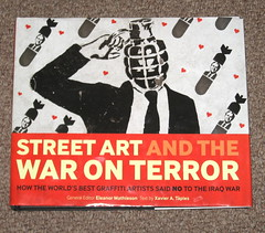 STREET ART AND THE WAR ON TERROR (asboluv) Tags: graffiti book stencil published protest ipswich asbo asboluv streetartandthewaronterror