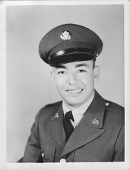 Ruben in his army photo. (1958)