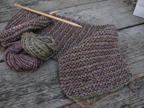 Rowan Tweed Scarf
