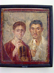 Mural of Paquius Proculus and wife