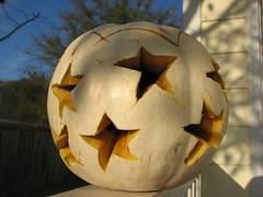 for punkin' head (romeo'smom) Tags: halloween stars dayofthedead estrellas patches inmemoryof whitepumpkin petloss felizdiadelosmuertos