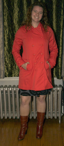 My New Coat and New Boots