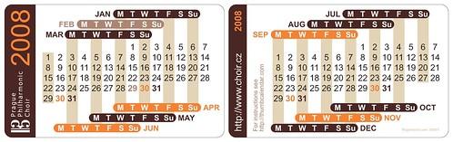 Thumb Calendar 2008 Edition