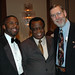 Civil Rights Attorney Lawrence Williamson, Linus Ohebosim, and Dr. Walt Chappell